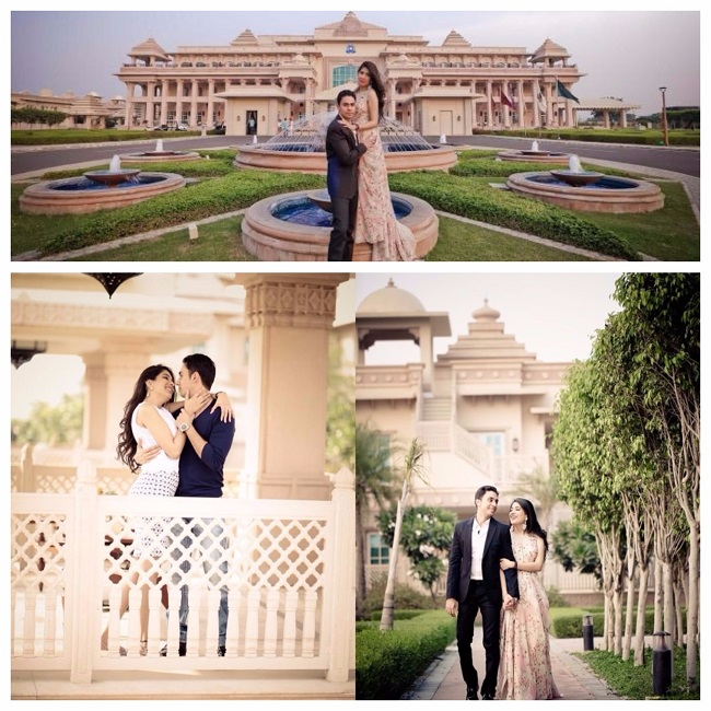 Pre-wedding shoot locations