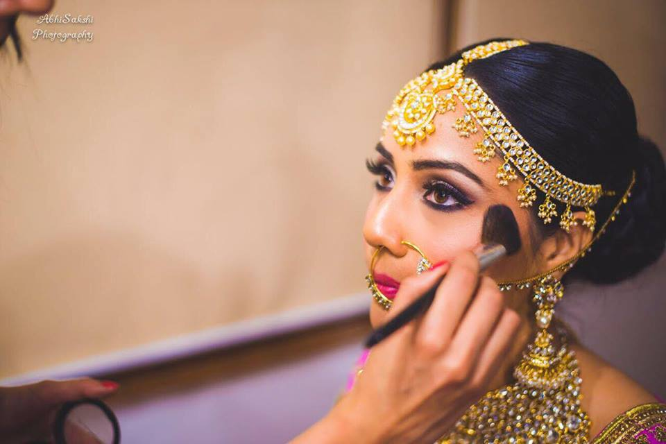 bridal makeup artists in Punjab